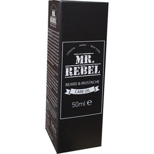 Mr. Rebel Beard and Moustache Care Oil 50 ml - Hairwaxshop
