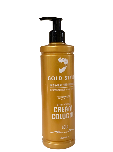 Gold Style After Shave Cream Cologne Gold 400 ml - Hairwaxshop
