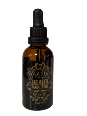 Gold Style Beard and Mustache Care Oil 50 ml