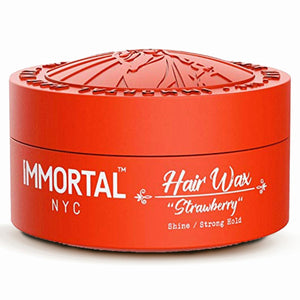 Immortal NYC Strawberry Hairwax Shine Medium Hold 150 ml - Hairwaxshop