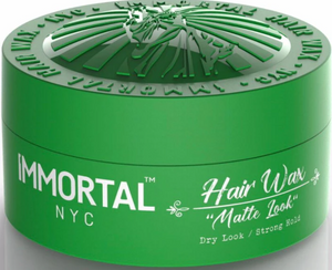 Immortal NYC Hair Wax Matte Look Dry Look Strong Hold 150 ml - Hairwaxshop