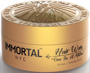 Immortal NYC Hair Wax One in A million Shine Strong Hold 150 ml - Hairwaxshop
