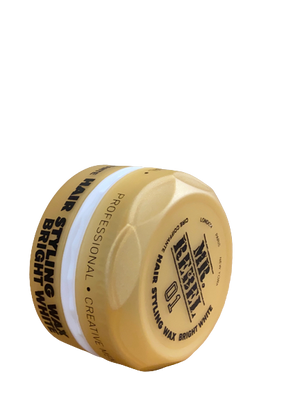 MR. REBEL 01 HAIR WAX STYLING BRIGHT WHITE 150 ML - Hairwaxshop