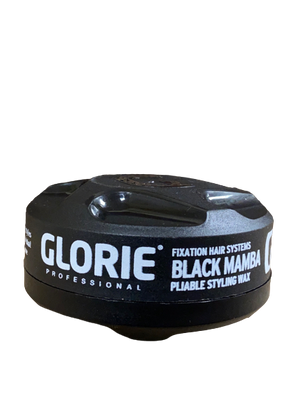 Glorie Fixation Dry Styling Wax Black Color Wax 150 ml - Hairwaxshop