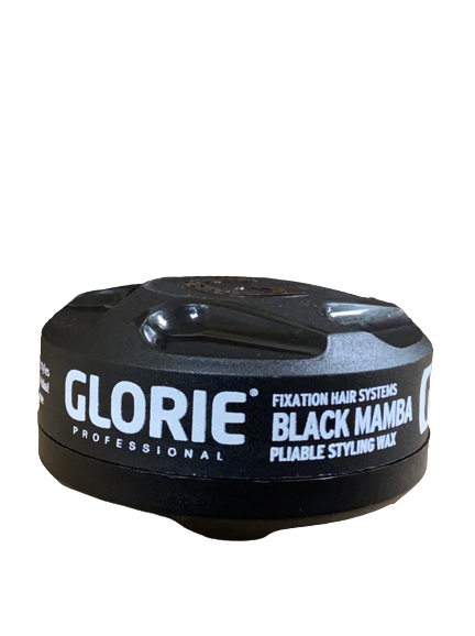 Glorie Fixation Dry Styling Wax Black Color Wax 150 ml