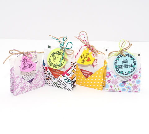 Spring Double Tea Favors