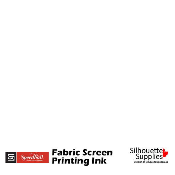 Fabric Screen Printing Ink - White