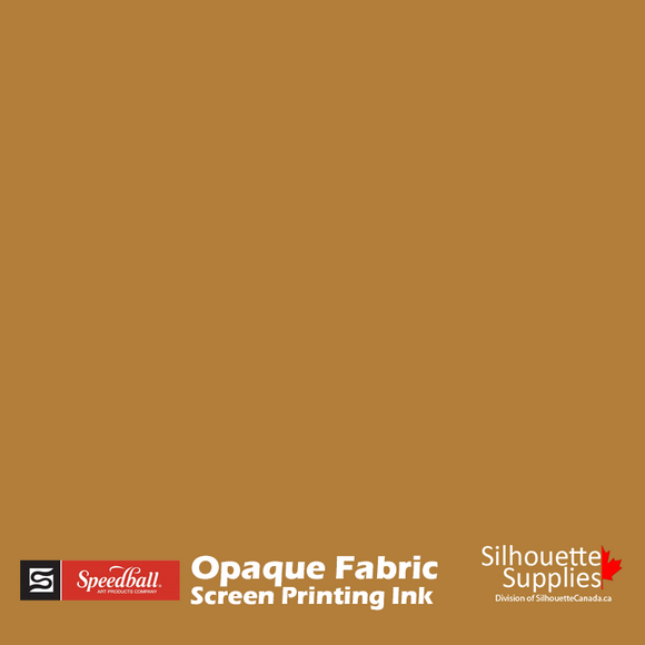 Opaque Fabric Screen Printing Ink -  Gold