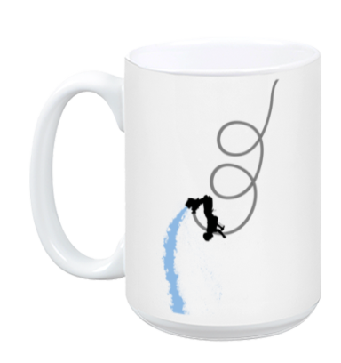 Flyboard Triple Backflip Mug