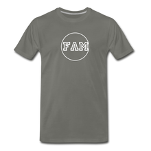Load image into Gallery viewer, Men's FAM Circle T-Shirt - asphalt gray