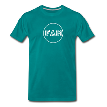 Load image into Gallery viewer, Men's FAM Circle T-Shirt - teal