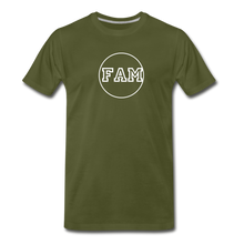 Load image into Gallery viewer, Men's FAM Circle T-Shirt - olive green