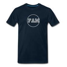 Load image into Gallery viewer, Men's FAM Circle T-Shirt - deep navy