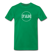 Load image into Gallery viewer, Men's FAM Circle T-Shirt - kelly green