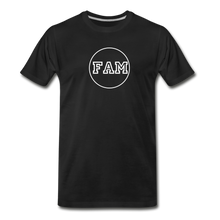 Load image into Gallery viewer, Men's FAM Circle T-Shirt - black