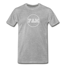 Load image into Gallery viewer, Men's FAM Circle T-Shirt - heather gray