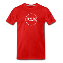 Load image into Gallery viewer, Men's FAM Circle T-Shirt - red