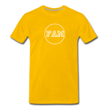 Load image into Gallery viewer, Men's FAM Circle T-Shirt - sun yellow