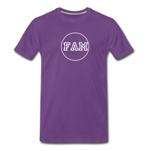 Load image into Gallery viewer, Men's FAM Circle T-Shirt - purple
