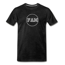 Load image into Gallery viewer, Men's FAM Circle T-Shirt - charcoal gray
