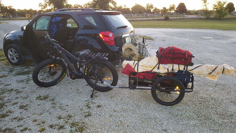 Ebike With Trailer