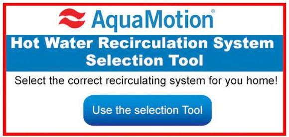 What AquaMotion Instant Hot Water Recirculation Pump is Right for Me? - SDS Supply