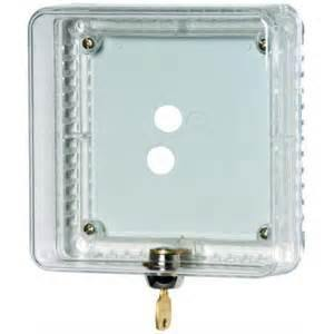 Honeywell TG510A1001 Small Clear Plastic Universal Thermostat Guard