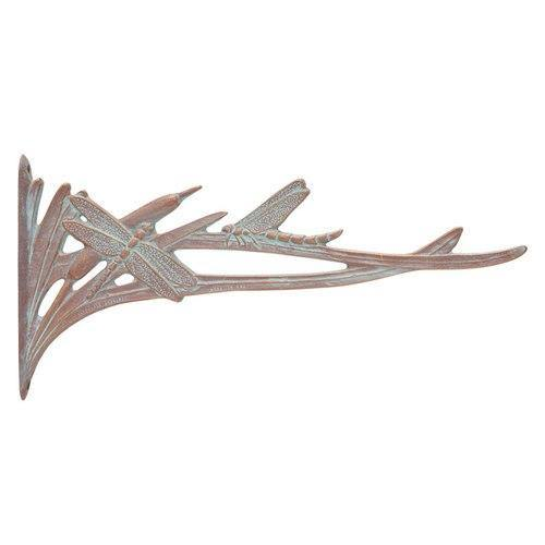 Whitehall Products 30142 Dragonfly Nature Hook - Copper Verdigris