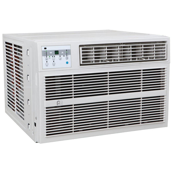 Perfect Aire 3PACH18000 18,000 BTU Window Air Conditioner with Electric Heater