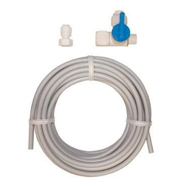 Eastman 60467N Ice Maker Kit with Stop Valve - 25' Pex Tube