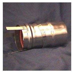 "Heat Fab 9301 Saf-T Vent EZ Seal - 3 Inch Diameter - 6"" Straight Length"