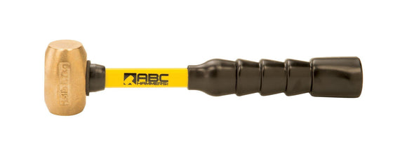 ABC Hammers ABC1.5BFB 1.5 lb. Brass Hammer with 10