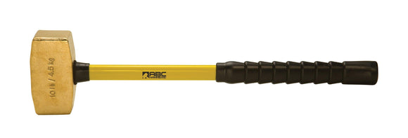 ABC Hammers ABC10BFBS 10 lb. Brass Hammer with 24