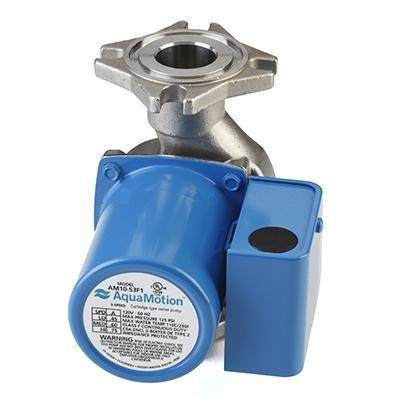AquaMotion AM10-S3F1 Circulator Pump - Stainless Steel - Three Speed