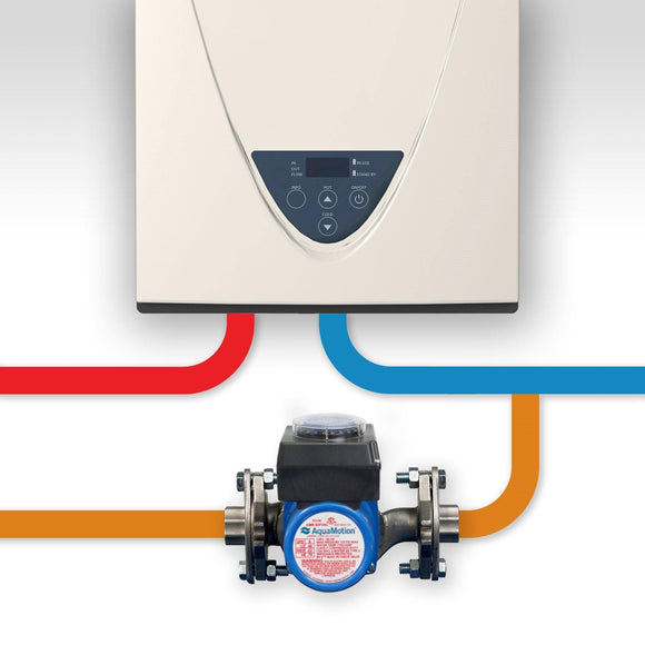 AquaMotion AMH2K-R Circulator and Components for tankless water heater