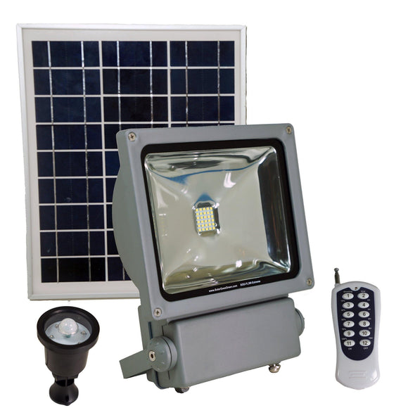 Solar Goes Green SGG-FL3-Extreme Solar Flood Light - 150W Bulb