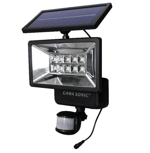 Gama Sonic GS-10 Solar LED Outdoor Security Light with MOTION SENSOR