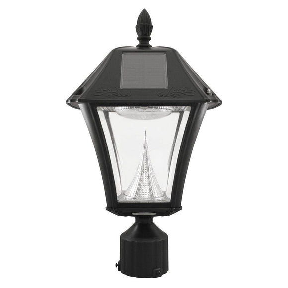 Gama Sonic GS-105FPW-BW Baytown II Solar Light - Wall/Pier/3
