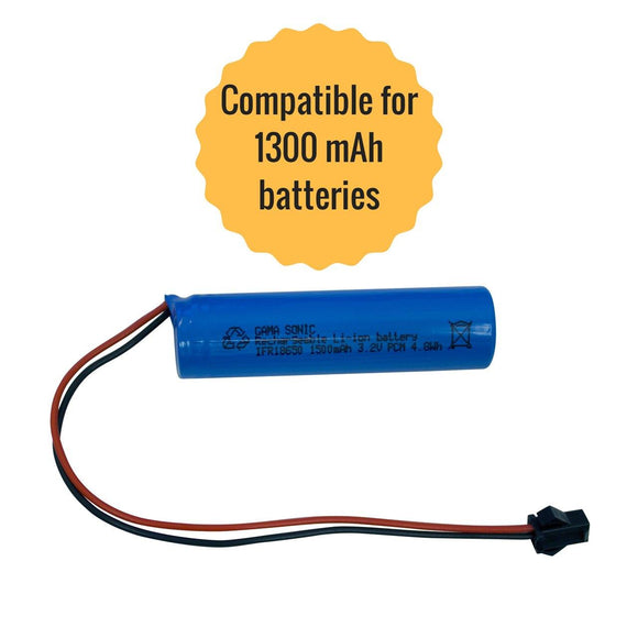 Gama Sonic GS-32V15 Replacement Li-Ion Battery