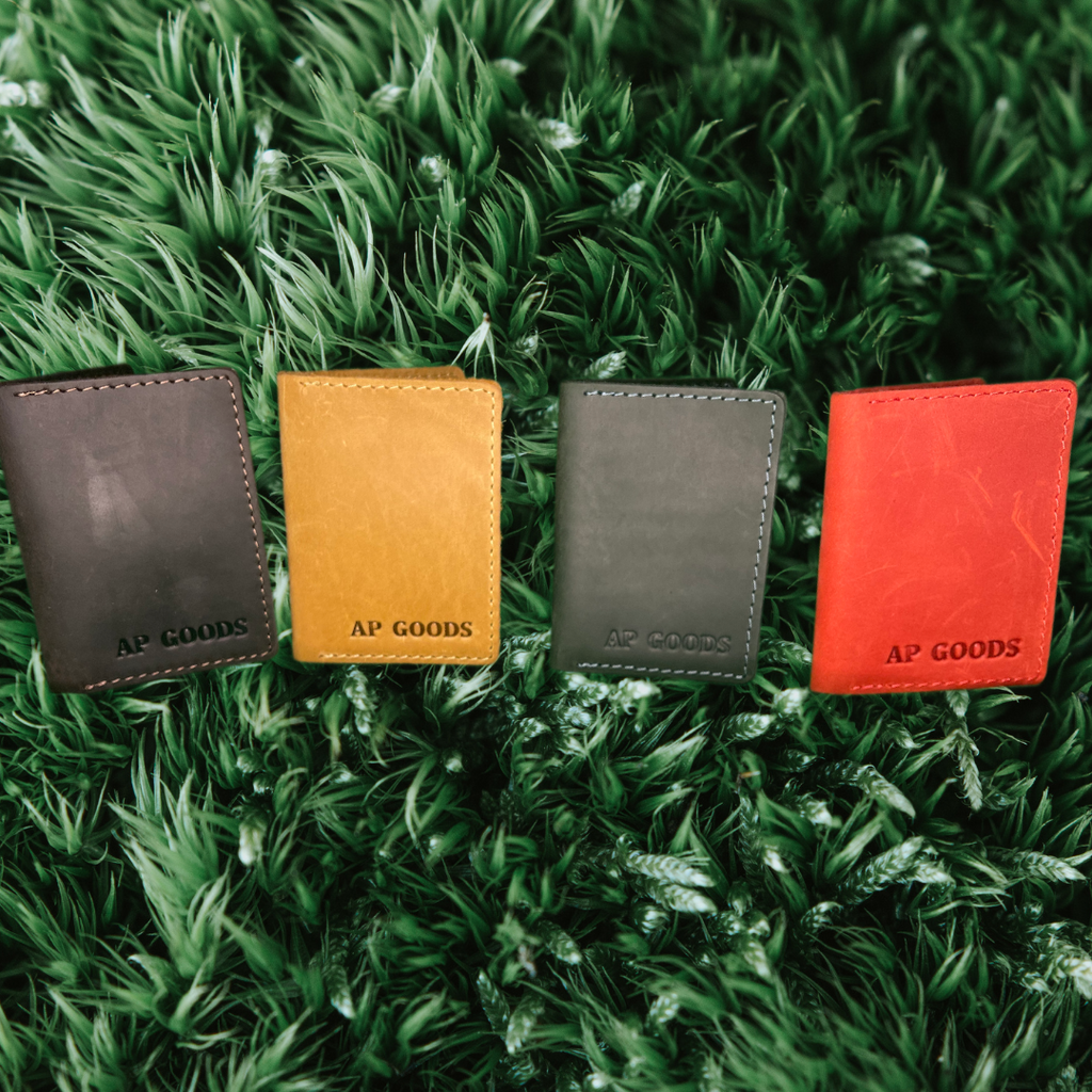 AP GOODS Leather Wallet