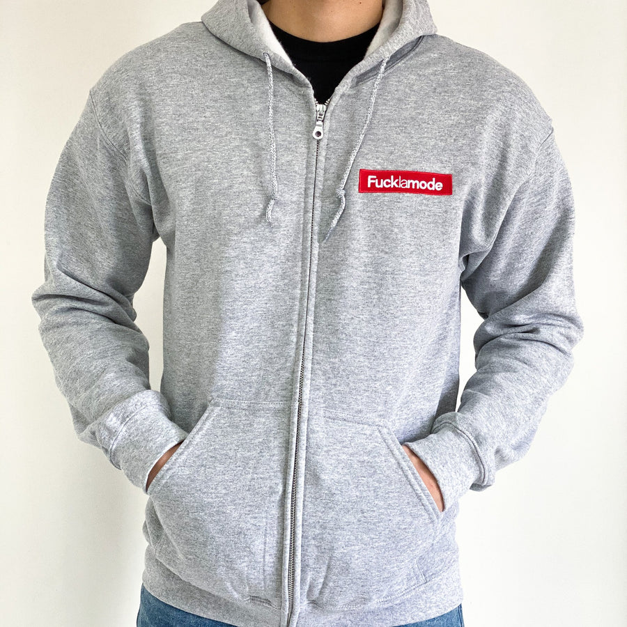 Zip Up FLM Box Logo