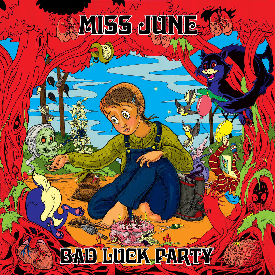 Miss June - Bad Luck Party - LP