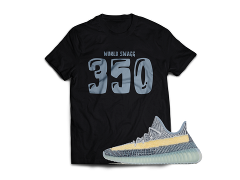 "350 T Shirt for Yeezy 350 "" Ash Blue """