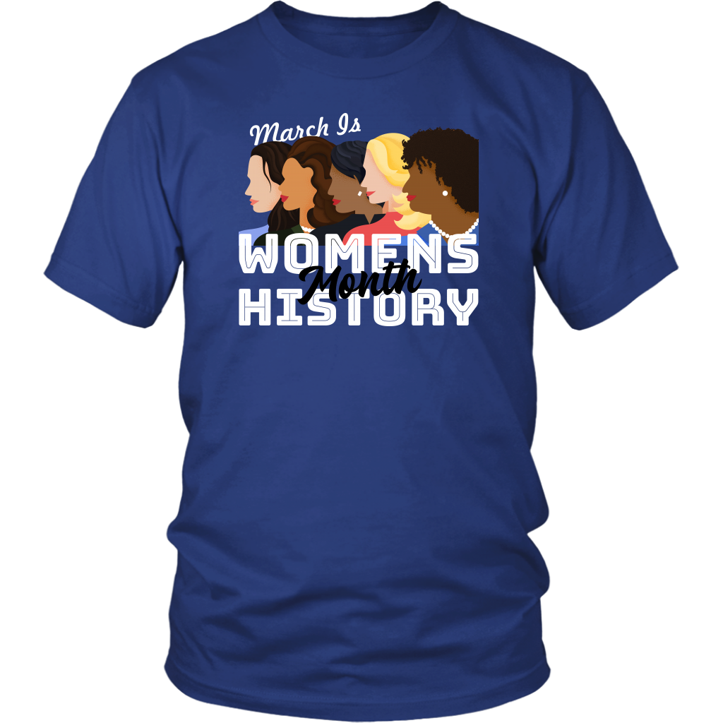 March is women's history month Unisex Shirt
