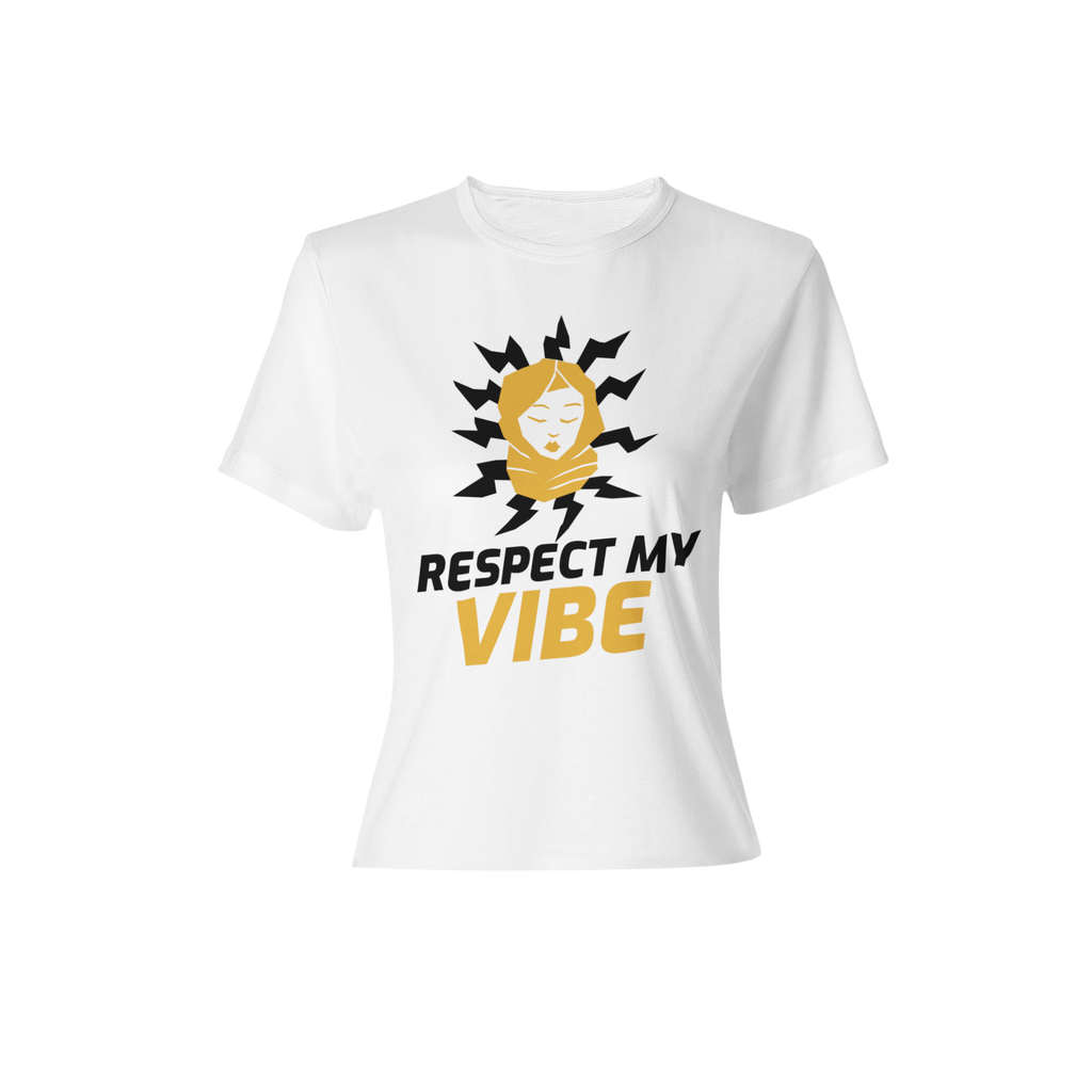 RESPECT WOMENS SHIRT - WHITE