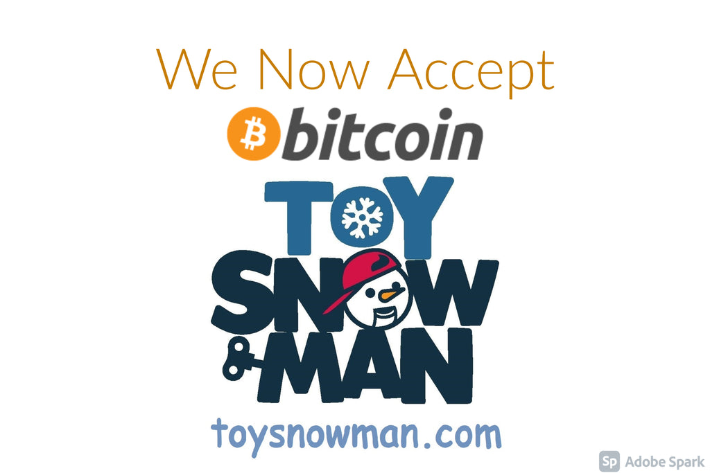 Toy Snowman now accepts Bitcoin payments