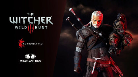 The Witcher Macfarlane toys