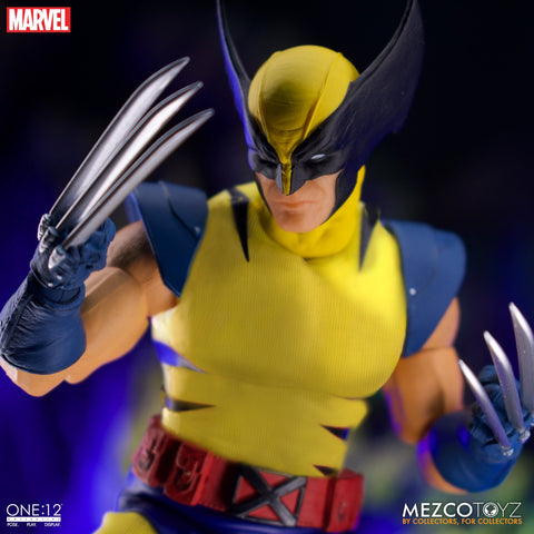 (preorder ETA Nov ) Mezco ONE:12 WOLVERINE DELUXE STEEL BOX EDITION - Toy Snowman