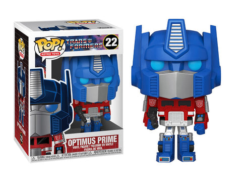 Funko Pop! Animation: Transformers - Optimus Prime - Toy Snowman