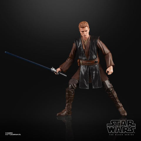 Star Wars The Black Series Anakin Skywalker (AOTC) 6-Inch Action Figure - Toy Snowman